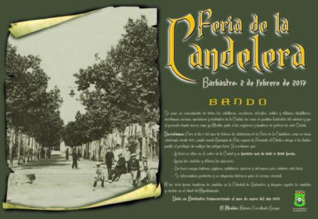 Carteles anunciadores Feria de la Candelera